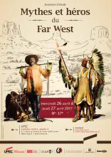 Visuel Mythes et héros du Far West