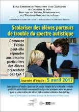 Visuel Scolariser des élèves porteurs de trouble du spectre autistique