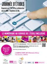 Visuel Le numérique au service de l'école inclusive